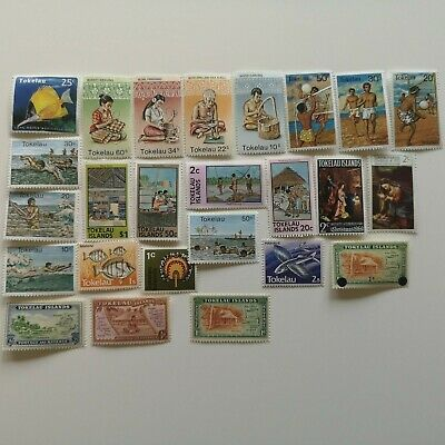 150 Different Tokelau Stamp Collection