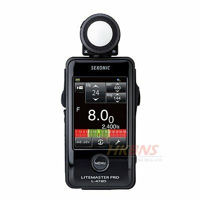 Sekonic L-478D LiteMaster Pro Light Meter L478D CE Version for Euro ~ NEW