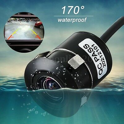 170° HD CMOS Anti fog Waterproof Car Rear View Reversing Backup Parking Camera