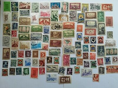 500 Different Algeria Stamp Collection