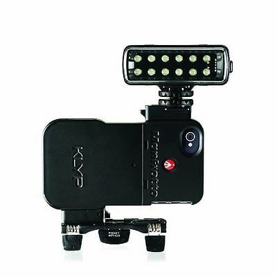Manfrotto KLYP iPhone 4/4S Case with Manfrotto ML120 and Manfrotto Pocket Tripod