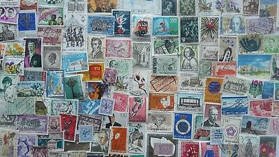 1000 Different Belgium Stamp Collection