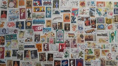 1000 Different Bulgaria Stamp Collection