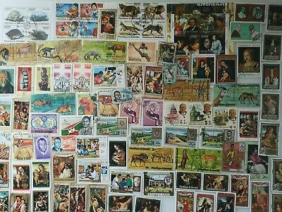 300 Different Burundi Stamp Collection