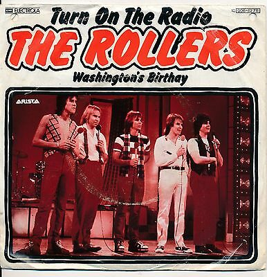 """Turn On Your Radio - The Rollers - Single 7"""" Vinyl 51/16"""