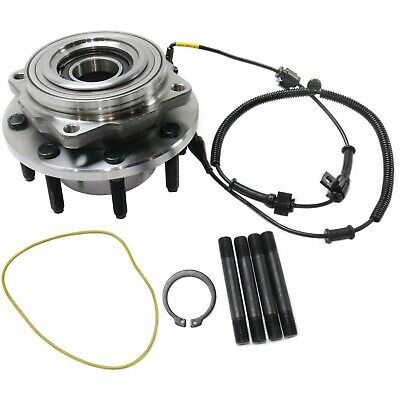 Front Wheel Hub & Bearing Assy for 05-10 Ford 4WD F-250 F-350 Super Duty SRW