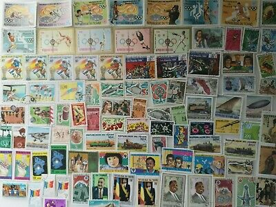 500 Different Chad Stamp Collection