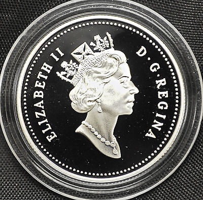 2004 Canada 50 cents Proof Silver Coin - Royal Diademed Portrait - NO CASE