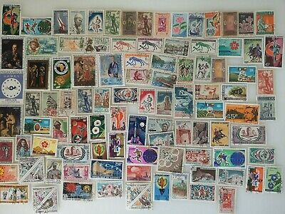 300 Different Dahomey Stamp Collection