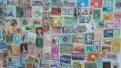 600 Different Dominican Republic Stamp Collection