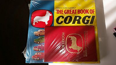 The Great Book of Corgi (1956-83) Pocket Book Inclueded. Still Shrink Wrapped