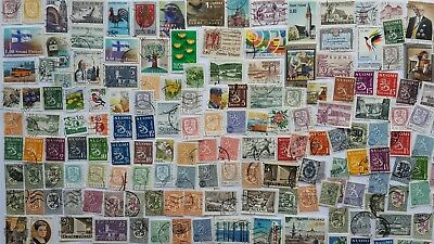 500 Different Finland Stamp Collection