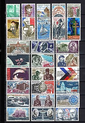 760-NICE Used STAMPS LOT OF FRANCE-BUEN LOTE de SELLOS usados de FRANCIA.French.