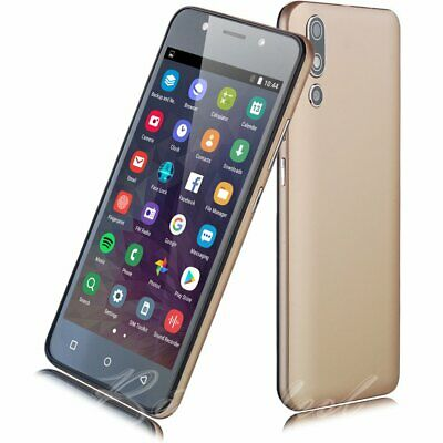 New Android 8.1 Unlocked Cell Phone 5.0'' 3G Smartphone Quad Core Dual SIM Net10