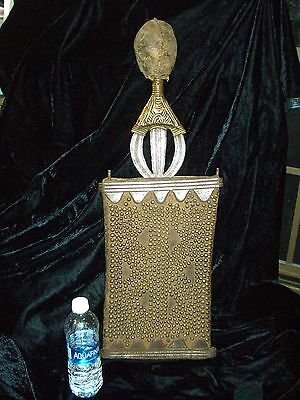 ANTIQUE CONGO NGOMBE  NGANDI AFRICAN POTO PEOPLES SWORD Rhodes-Nadler Collection