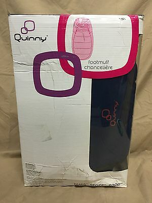NEW Quinny Footmuff Chanceliere Blue 32521 Stroller Baby Cover Bunting Blanket