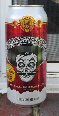 Victoria Beer, Zapata can. SKULL SET CAN