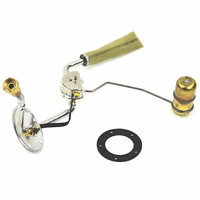 """55 56 57 Bel Air Fuel Gas Sending Unit, Stainless, 3/8"""" - excludes Wagon"""
