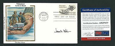 James Watson signed cover PSA Authenticated Co-discovered DNA