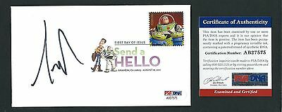 Tim Allen signed cover PSA Authenticated Toy Story Buzz Lightyear