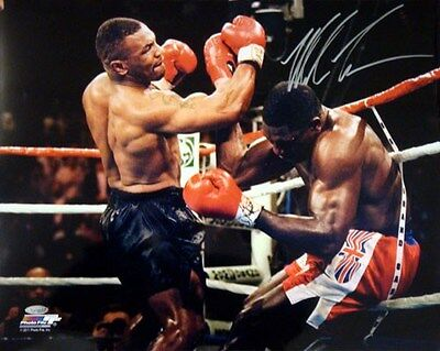 Mike Tyson Autographed Signed 16X20 Photo Tristar Stock #35409