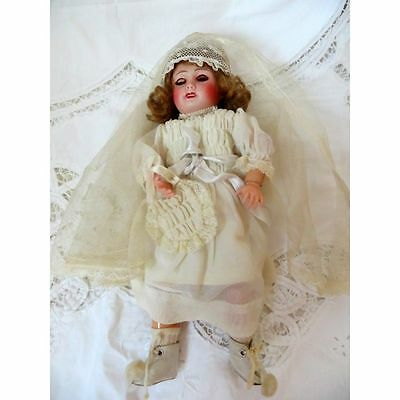 Antique French Bleuette Doll - 11''
