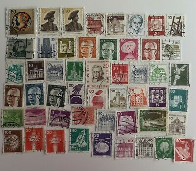 300 Different Germany Berlin only Stamp Collection