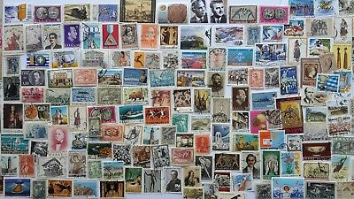 500 Different Greece Stamp Collection