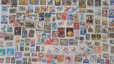 2000 Different Hungary Stamp Collection