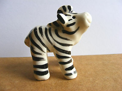 Little Guys Zebra Miniature Animal Figurine Cindy Pacileo Pottery Wildlife