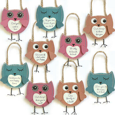 OWL LUGGAGE TAG / Address Label Baggage Case Holiday Bag Travel Suitcase Truck