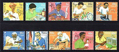 Singapore 2013 Vanishing Trade Set 10 MNH