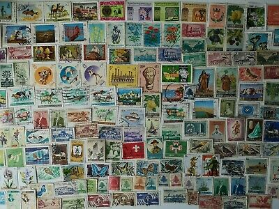 300 Different Lebanon Stamp Collection