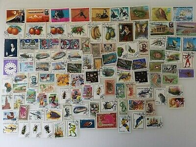 500 Different Malagasy Rebublic Stamp Collection