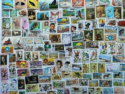 200 Different Mali Stamp Collection
