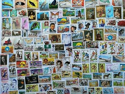 400 Different Mali Stamp Collection