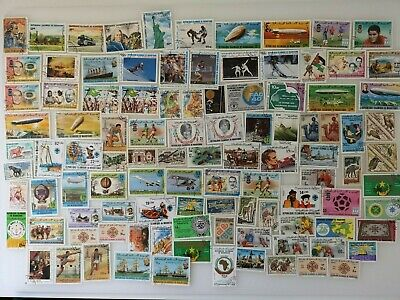 300 Different Mauritania Stamp Collection