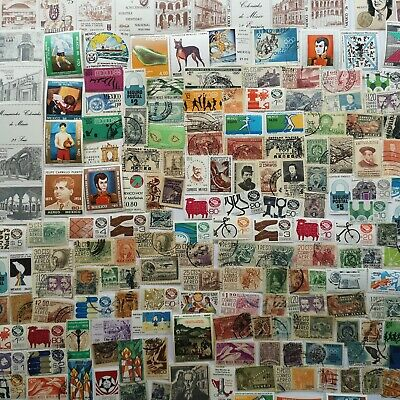 200 Different Mexico Stamp Collection