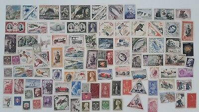 300 Different Monaco Stamp Collection
