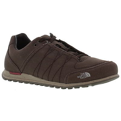 The North Face Hedgehog Mountain Sneaker Mens Canvas Shoe Brown Size UK 8-11