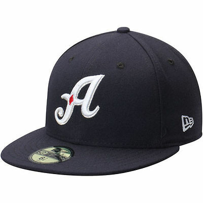 Reno Aces New Era Home Authentic Collection 59FIFTY Fitted Hat - Navy - MiLB