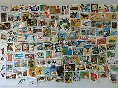 1000 Different Nicaragua Stamp Collection