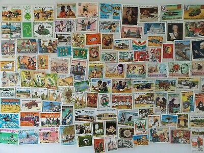 200 Different Niger Stamp Collection
