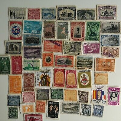300 Different Panama Stamp Collection