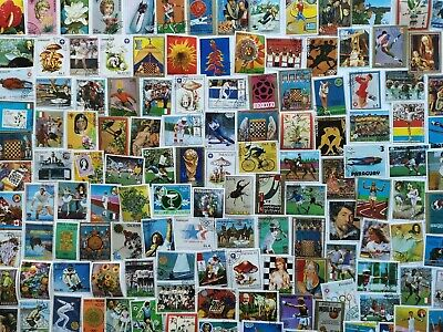 1000 Different Paraguay Stamp Collection