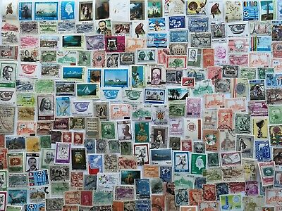 500 Different Peru Stamp Collection