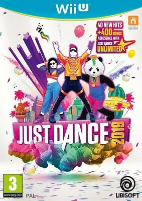 Just Dance 2019 Nintendo Wii U * NEW SEALED PAL *