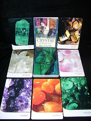 Brand New & Sealed! Crystal Oracle Cards Healing Stones & Chakra Energies