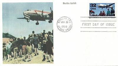 #3211 Berlin Airlift Mystic FDC (01419983211001)