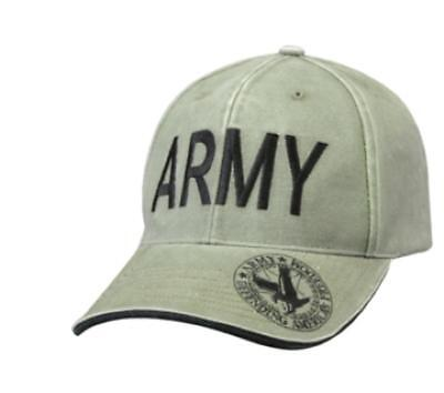 ROTHCO 9788   9888 Vintage Deluxe Army Low Profile Insignia Cap ... 4a015c2d814e